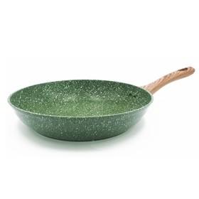 Cковорода 28 см, мраморное антипригарное покрытие