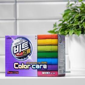 Стиральный порошок CJ Lion Beat Drum Color Care «Защита цвета», автомат, 1,5 кг