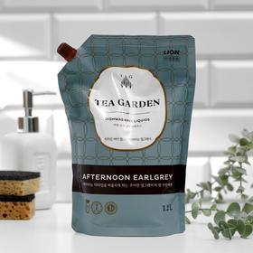 Средство для мытья посуды Lion Chamgreen Tea Garden «Бергамот», дой-пак, 1250 мл