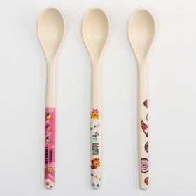 Ложка детская для кормления из бамбука