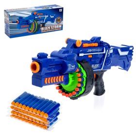 Бластер «Сармат», стреляет мягкими пулями, работает от батареек Ош