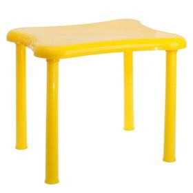 Стол детский «Капитоша», цвет жёлтый Ош