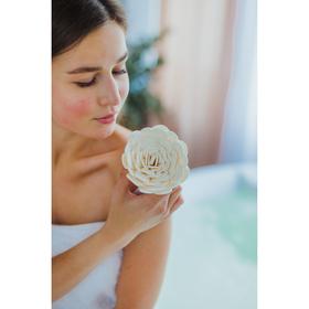 Мочалка-цветок Доляна, цвет МИКС