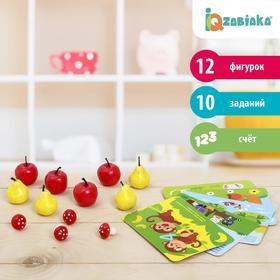 Счётный материал «Весёлые задачки: грибы, яблоки, груши», 12 шт.