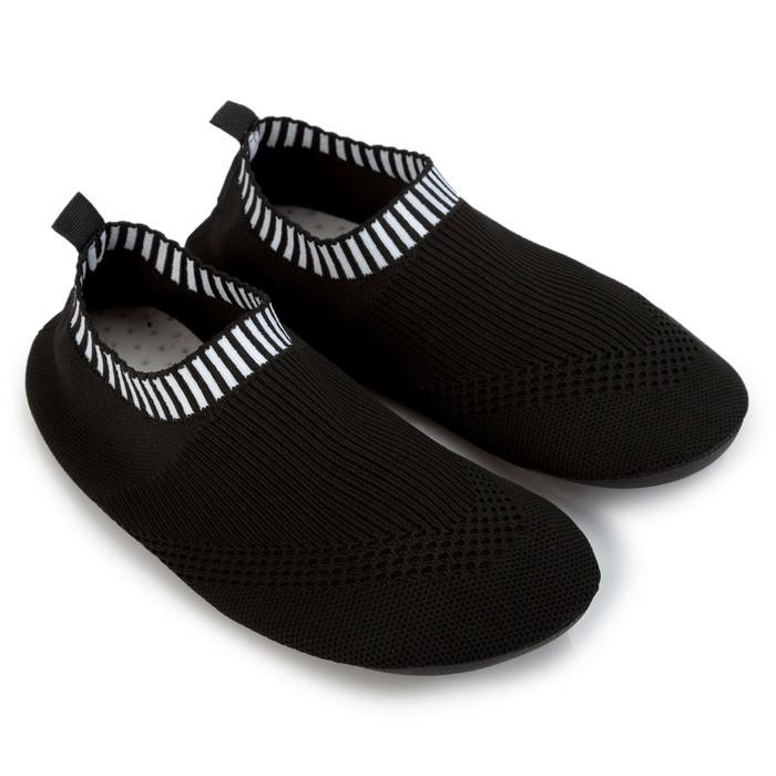 Аквашузы детские MINAKU цвет чёрный, размер 30-31