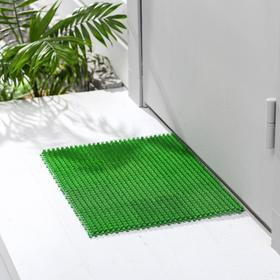 Покрытие ковровое щетинистое «Травка-эконом», 36×48 см, цвет зелёный Ош