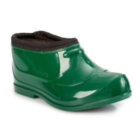 Галоши детские, цвет зелёный, размер 28 Ош