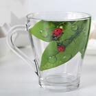Кружка для чая «Живая природа. Зелёный лист», 250 мл - Фото 2