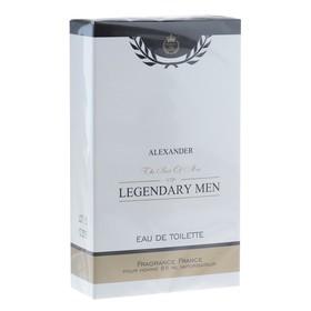 Туалетная вода для мужчин Legendary Men Alexander, 85 мл