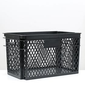 Ящик универсальный «Эконом», 65×41,5×39,5 см, цвет МИКС Ош