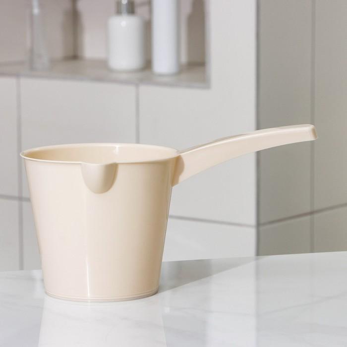 "Ковш со сливом ""Эконом"", цвет МИКС"