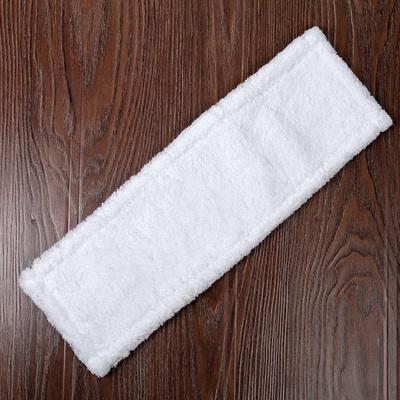 """Насадка для плоской швабры 40×10 см """"Soft"""", микрофибра, цвет белый - Фото 1"""