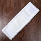 """Насадка для плоской швабры 40×10 см """"Soft"""", микрофибра, цвет белый - Фото 2"""