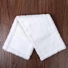 """Насадка для плоской швабры 40×10 см """"Soft"""", микрофибра, цвет белый - Фото 3"""