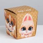Коробка для лапши «Ням-ням» 7.6 x 10 x 7.6 см