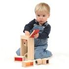 Деревянная игрушка «Радужные блоки», со звуковым эффектом, в контейнере - Фото 2