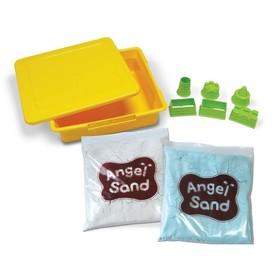 """Игровой набор Angel Sand """"Песочный замок """", светится в темноте"""