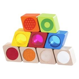 Деревянная игрушка Радужные блоки «Чудеса», со звуковым эффектом