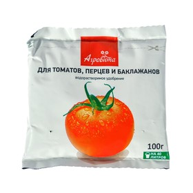 Удобрение минеральное Агровита Для томатов, перцев и баклажанов, 100 г