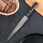 Нож-слайсер для нарезки Samura 67 Damascus, лезвие 19,5 см, твёрдость 61 HRC