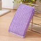 Губка для мытья посуды со стальной стружкой 12×9×1.5 см, цвет МИКС