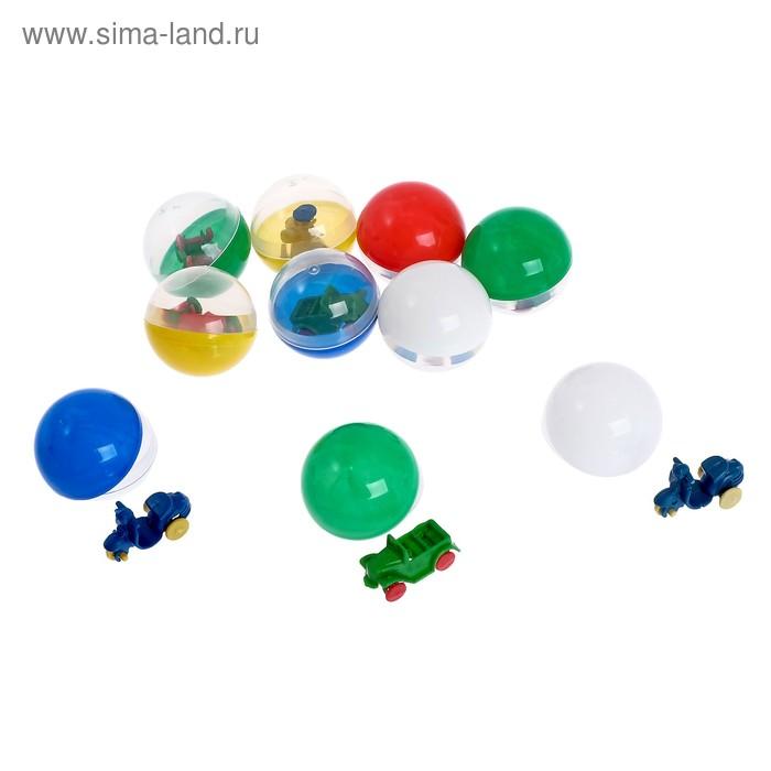 Набор игрушек в яйце «Техника», набор из 10 яиц, 34 мм