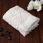Полотенце махровое Sal 30х50 см, цвет молочный