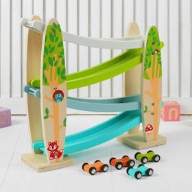 Деревянная игрушка «Гонки»