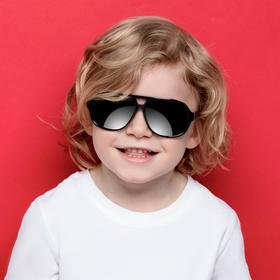 Очки солнцезащитные детские 'Авиаторы', классика, 13 × 4.5 × 12.5 см Ош