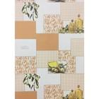 Обои виниловые на бумаге, моющиеся Маякпринт 582 329 06 Ибица, оранжевый, 0,53x10 м