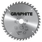 Диск отрезной по дереву GRAPHITE 55H606, 300 x 30 мм, 40 зубьев, твердосплавные напайки