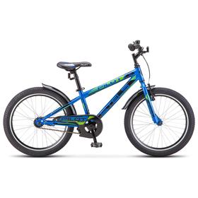 """Велосипед 20"""" Stels Pilot-200 Gent, Z010, цвет синий, размер 11"""""""