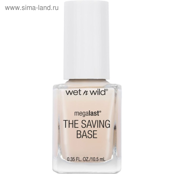 Лак для ногтей Wet n Wild MegaLast The Saving Base Fortifying Base Coat, тон E220d, 10 мл