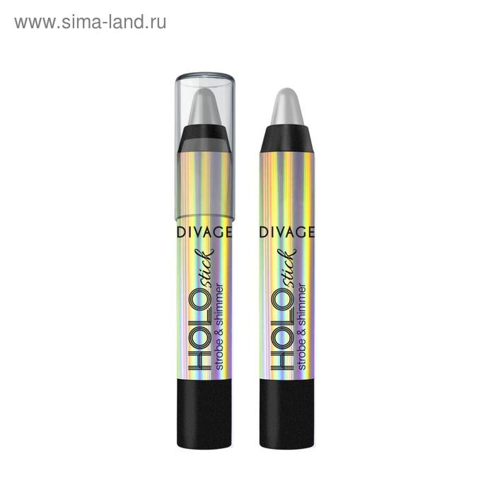 Хайлайтер для лица Divage Holo Stick, тон 01