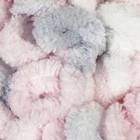 Бело-розово-серый