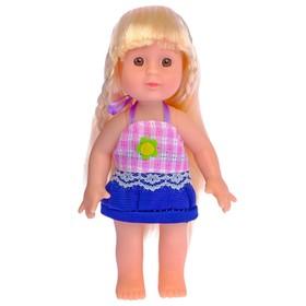 Кукла 'Таня' в платье цвета:МИКС. В ПАКЕТЕ Ош