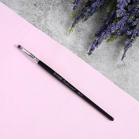 Кисть для макияжа «Home Professional», 15,5 см, цвет чёрный