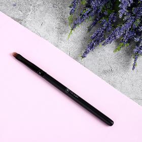 Кисть для макияжа, 14 см, цвет чёрный