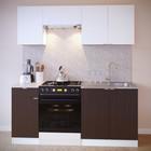 Шкаф к вытяжке, 600 × 300 × 296 мм, цвет белый/белый - Фото 2