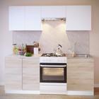 Шкаф с полками, 800 × 300 × 600 мм, цвет белый/белый - Фото 2