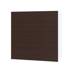 Шкаф с полками, 600 × 300 × 600 мм, цвет белый/венге