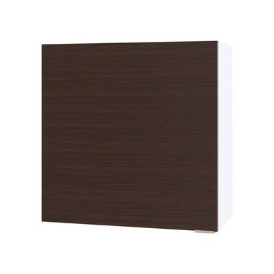 Шкаф с полками, 600 × 300 × 600 мм, цвет белый/венге - Фото 1