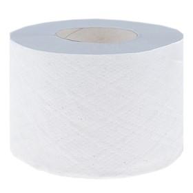 Туалетная бумага Helper на втулке 65 мм. с перфорацией и тиснением, белая, 100 м. Ош