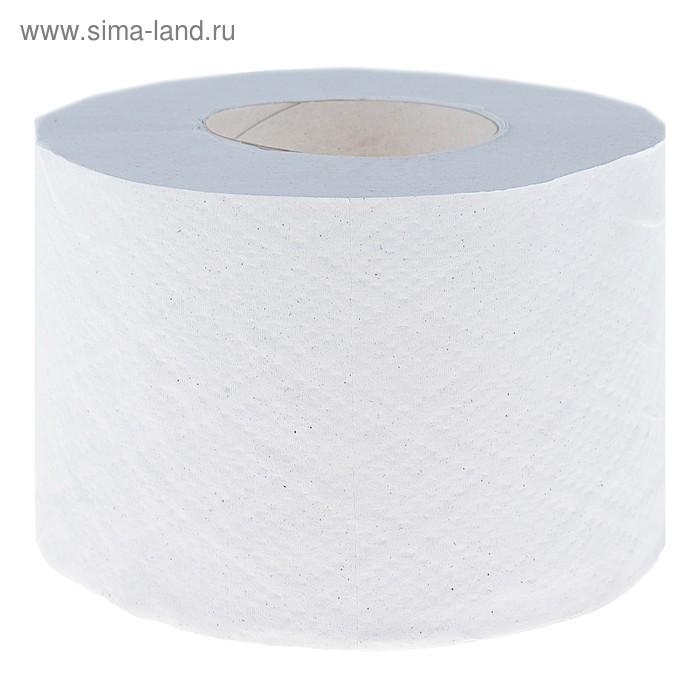 Туалетная бумага Helper на втулке 65 мм. с перфорацией и тиснением, белая, 100 м.
