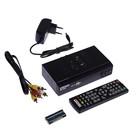 """Приставка для цифрового ТВ """"Сигнал"""" HD-300, FullHD, DVB-T2, дисплей, HDMI, RCA, USB, черная"""