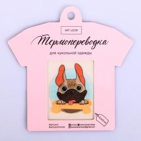 Термопереводка для кукольной одежды «Дружба», 6.5 × 5 см