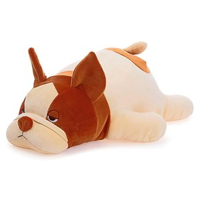 Мягкая игрушка «Бульдог», 47 см, МИКС