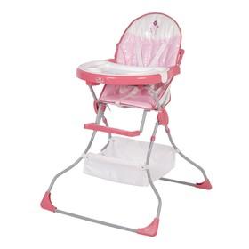 Стульчик для кормления Polini kids Joy «Весенняя мелодия» 252, цвет розовый