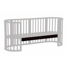 Опорная планка для кроватки детской Polini kids Simple 910, цвет венге Ош