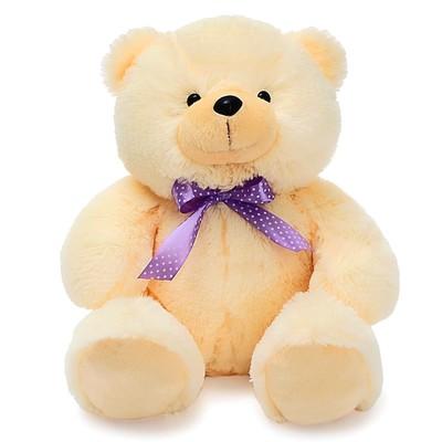 Мягкая игрушка «Медведь Эдди малый», 30 см, цвет бежевый - Фото 1